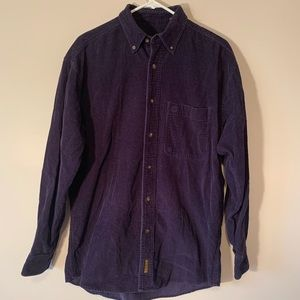 Timberland Corduroy Long Sleeve Shirt - Mens Small